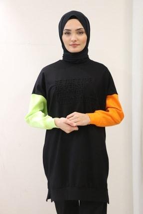 Loreen 2030556 Be The Type Kolları Farklı Renk Sweat
