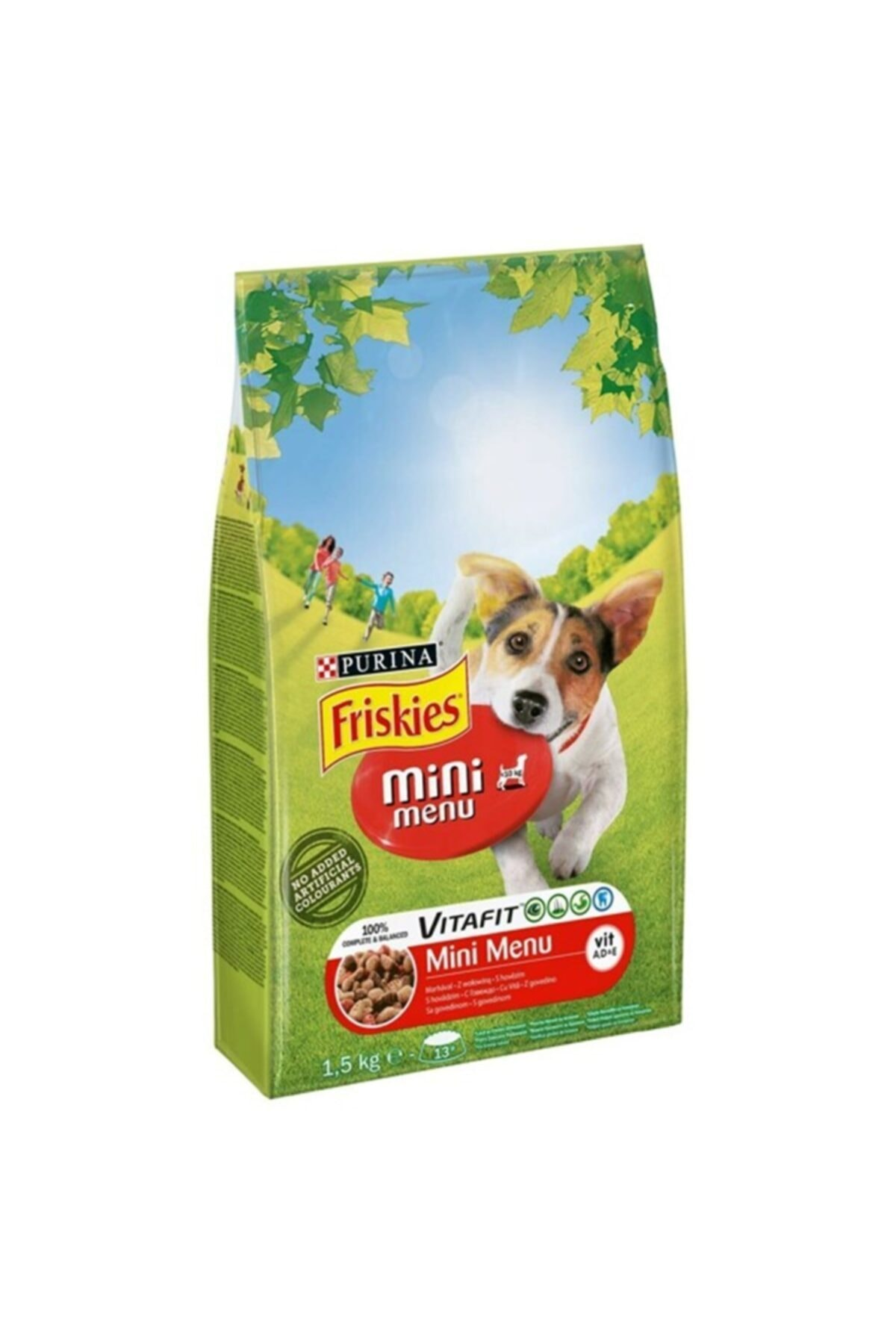 Friskies 1,5 Kg Etli Mini Menü Köpek 2