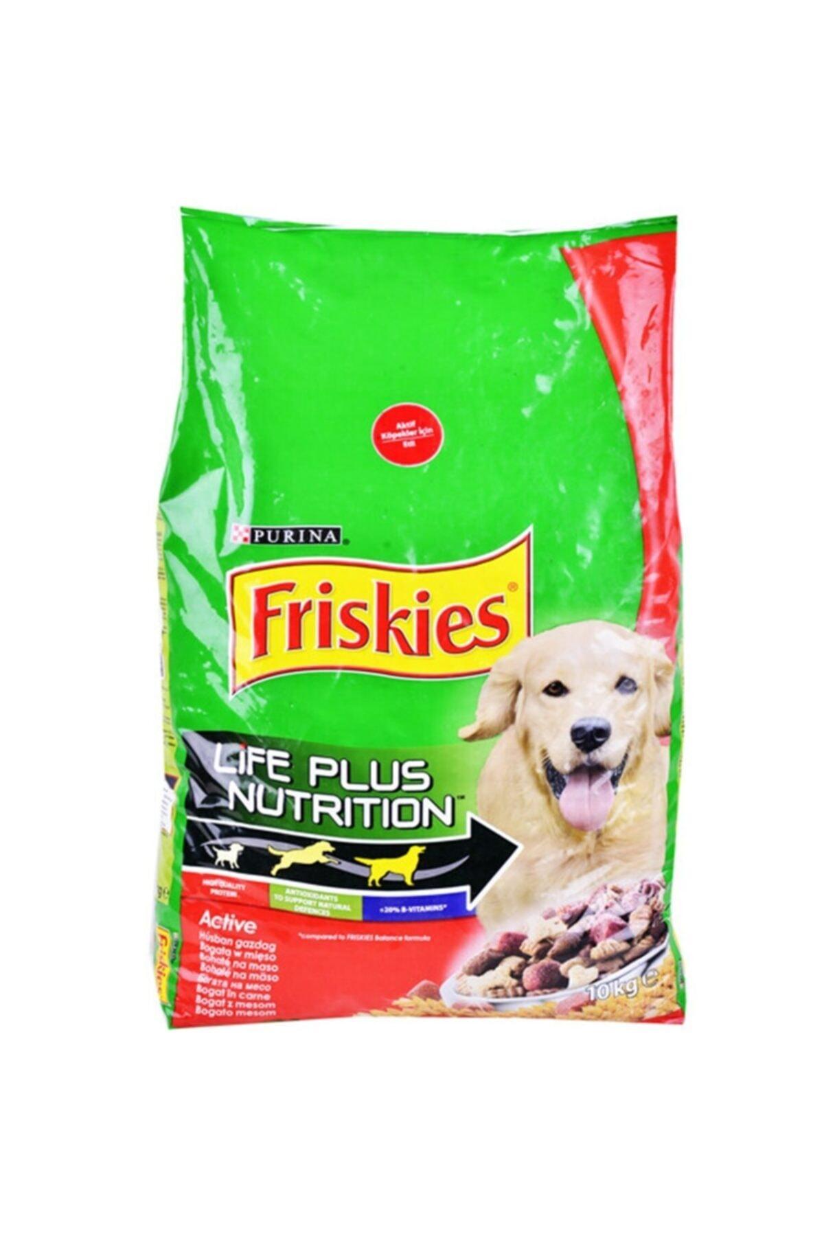 Friskies Aktif Köpek Maması 10 Kg 1
