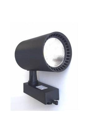 Noas 30 Watt Boru Tip Siyah Kasa Monofaze Soketli Günışığı Ray Spot