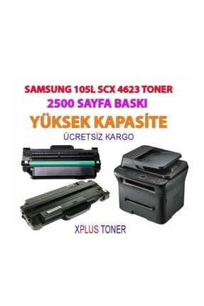 Samsung Ithal Mlt-d105l Scx-4600,4623f-fn-1910-1915 Chipli Toner
