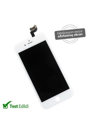 Apple Iphone 6s Lcd Ekran Dokunmatik Panel Orjinal Revize Beyaz