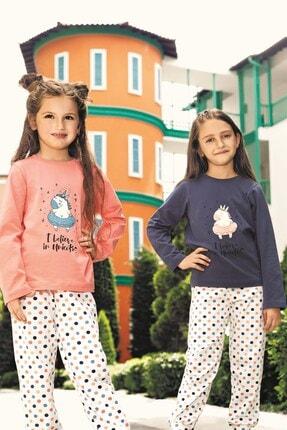 Lohusa Sepeti Kız Çocuk Unicorn Pijama Takımı - 3-9 Yaş - 0013