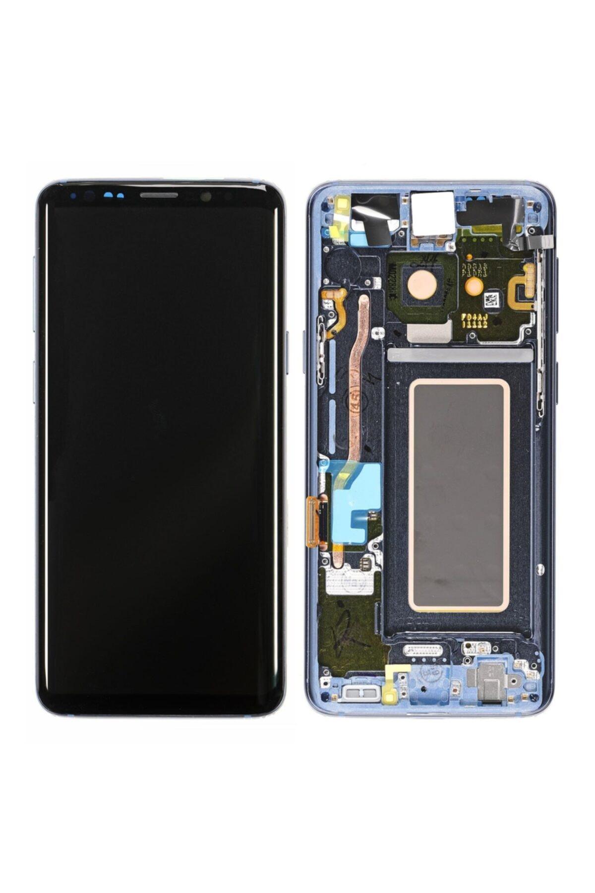 Samsung Galaxy S9 Sm-g960 Lcd Ekran Dokunmatik Servis Orjinali Buz Mavisi 1