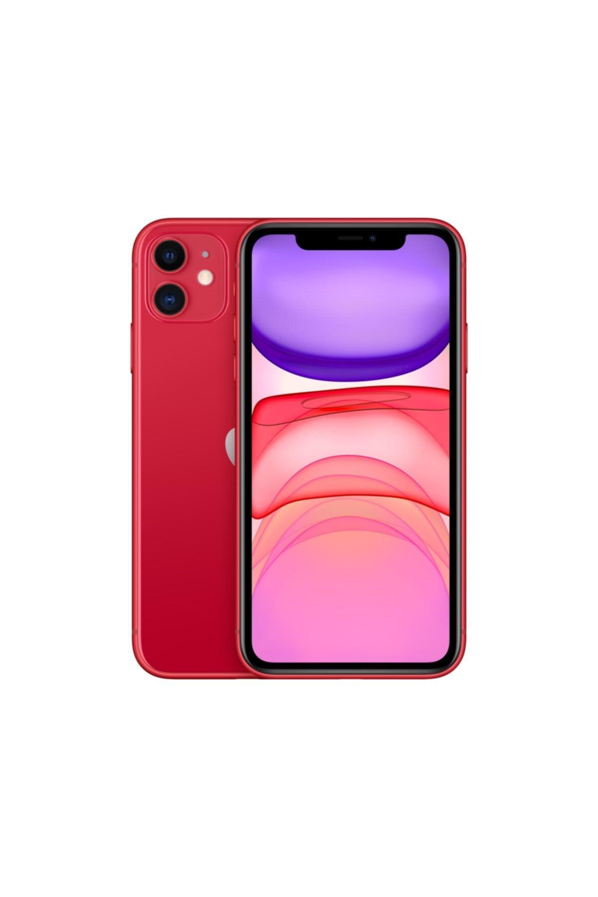 Apple iPhone 11 128GB (PRODUCT)RED Cep Telefonu (Apple Türkiye Garantili) Aksesuarsız Kutu 1