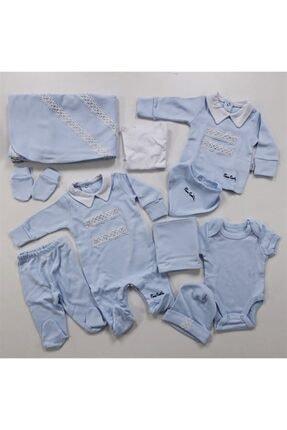 Pierre Cardin Baby 10'lu Yakalı Hastane Çıkışı Mavi 973