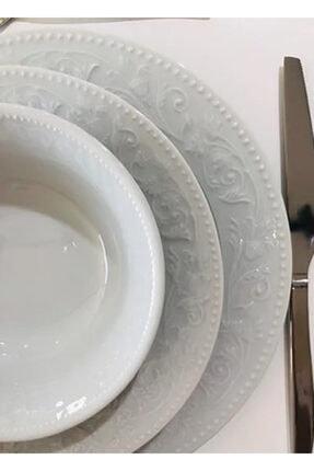 Porland Hazan Beyaz Yemek Takımı