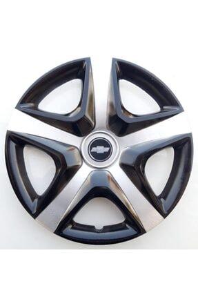 YAMAÇ 15'' Inç Chevrolet Jant Kapağı 4 Adet Çelik Jant Görünümlü Renkli - Kırılmaz Esnek