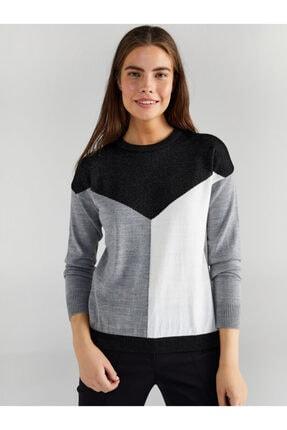 Faik Sönmez Kadın Siyah Triko Bluz