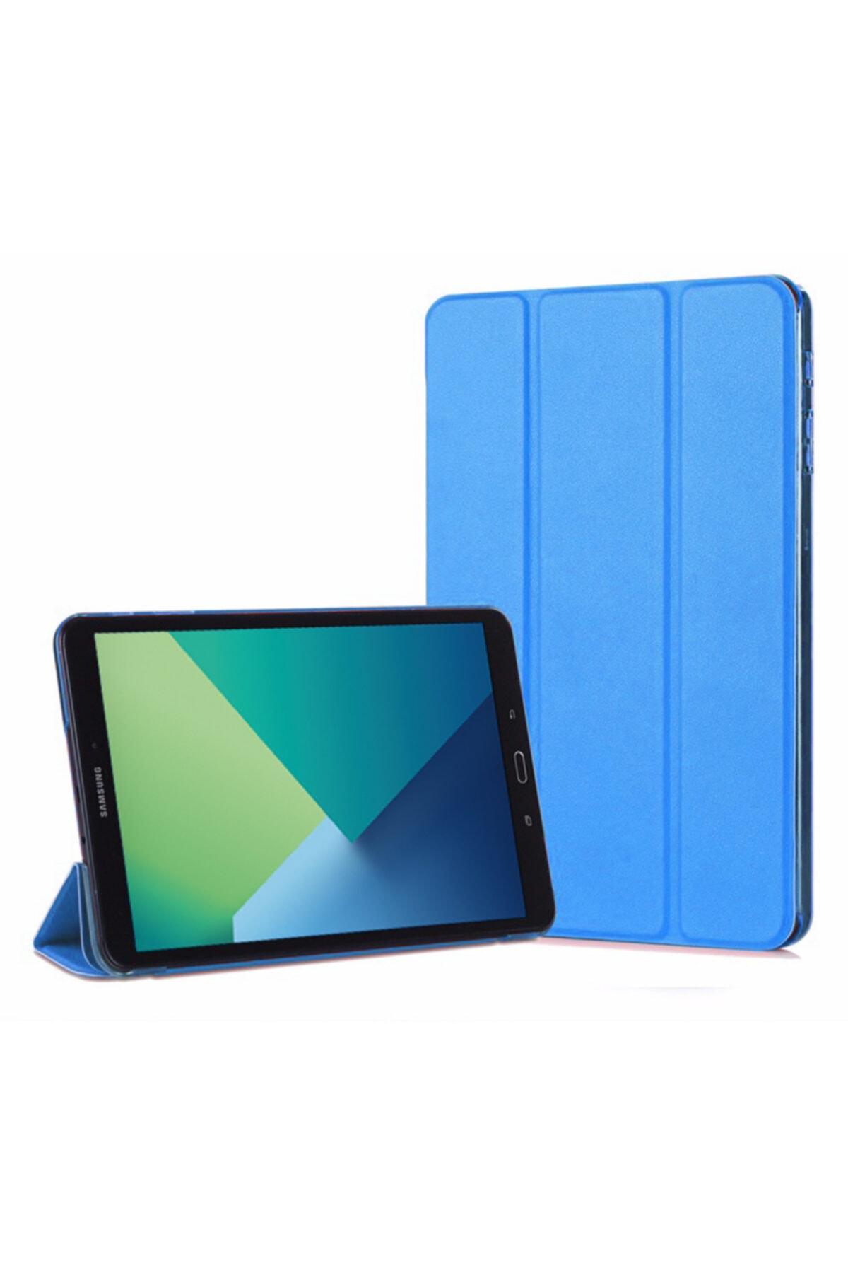 Microsonic Galaxy Tab A 10.1'' P580 Smart Case Ve Arka Kılıf, Microsonic Mavi 1