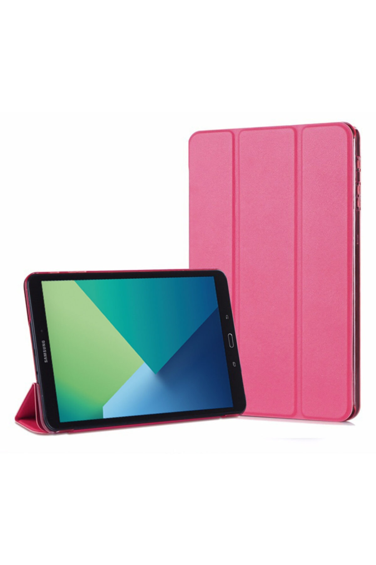 Microsonic Galaxy Tab A 10.1'' P580 Smart Case Ve Arka Kılıf, Microsonic Pembe 1