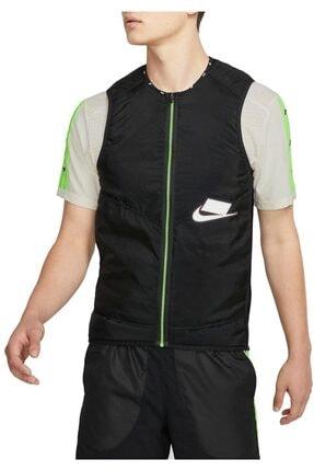 Nike Aerolayer Wild Running Gilet Erkek Siyah Yelek Bv5619-010