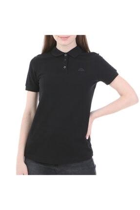 Kappa Rdk Kadın Polo T-shirt Sharas Siyah