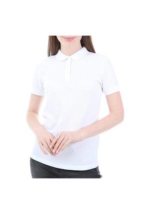 Kappa Rdk Kadın Polo T-shirt Sharas Beyaz