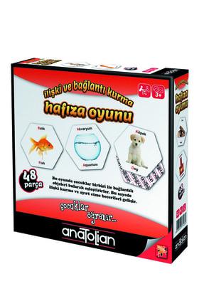 Anatolian Puzzle Hafıza Oyunu Ilişki ve Bağlantı Kurma 3 Yaş Eğitici Oyuncak