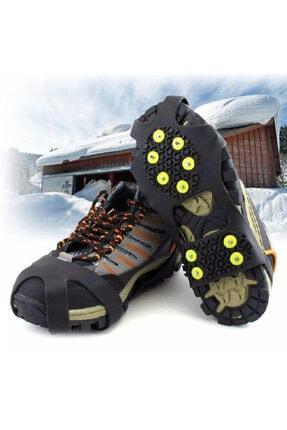 Yayke Karpatik Kayma Önleyici Ayakkabı Kar Buz Zinciri Bot Tabanlık Ayakkabı Altlığı 2li