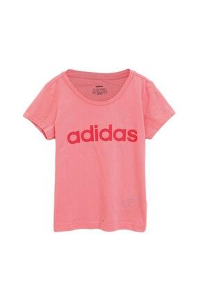 adidas YG E LIN TEE Pembe Kız Çocuk T-Shirt 101069152