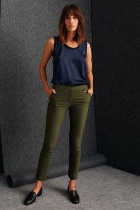 Perspective Kadın Haki Pantolon