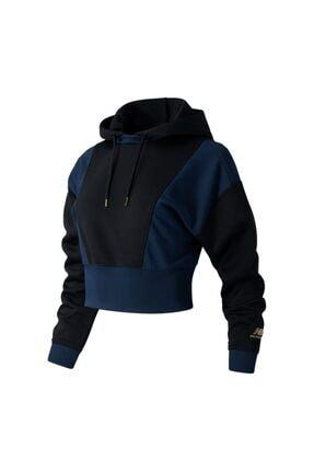 New Balance Kadın Siyah Sweatshirt Wt03501-bk