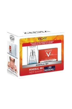 Vichy Mineral 89 + Lifactiv Collagen Kit