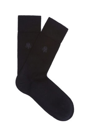 Mavi Siyah Soket Çorap 090250-26341