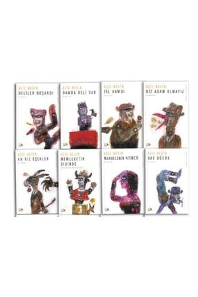 Nesin Yayınları Aziz Nesin Kitapları - 8'li Set -
