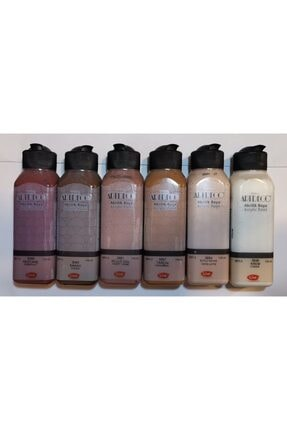 Artdeco Akrilik Boya Kahve Tonları 6 Renk X 140 Ml
