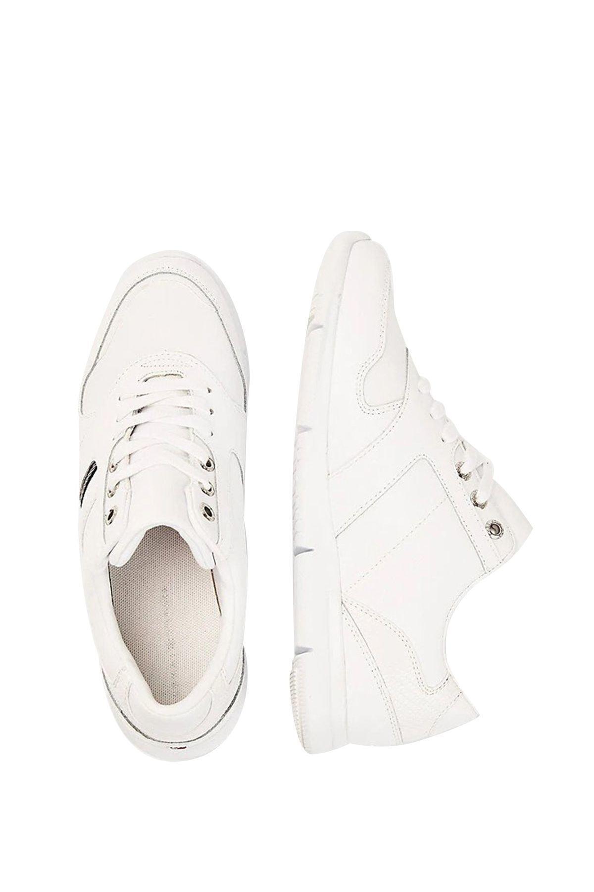 Tommy Hilfiger Kadın Beyaz Sneaker 2