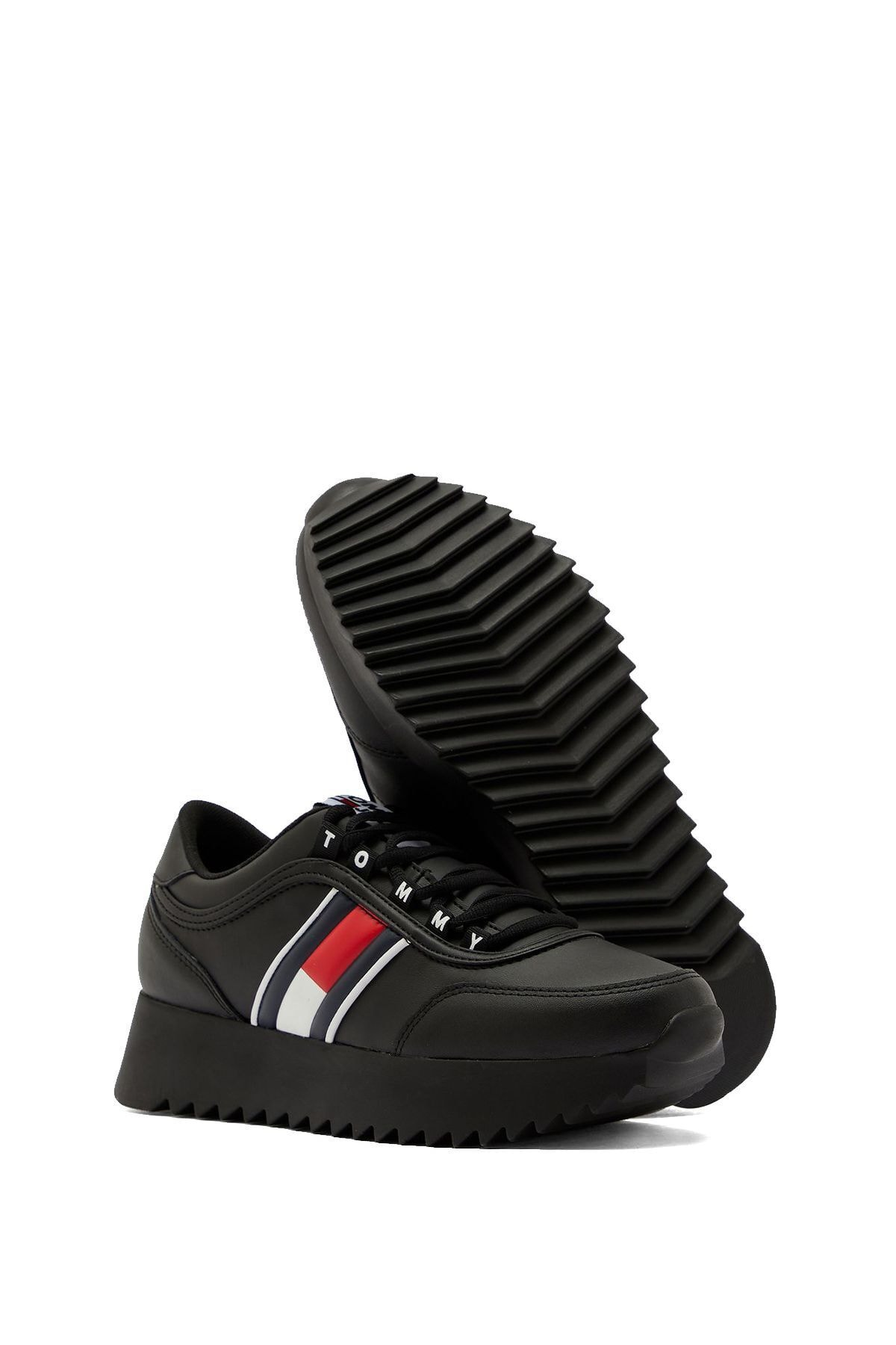 Tommy Hilfiger Kadın Siyah Sneaker 2
