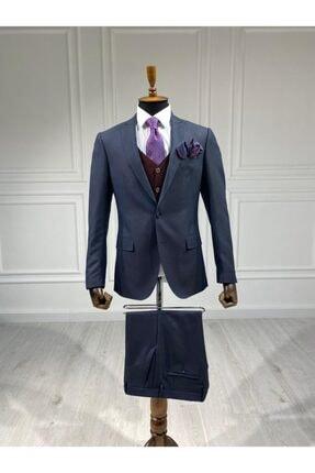 Sarar Erkek Lacivert Takım Elbise