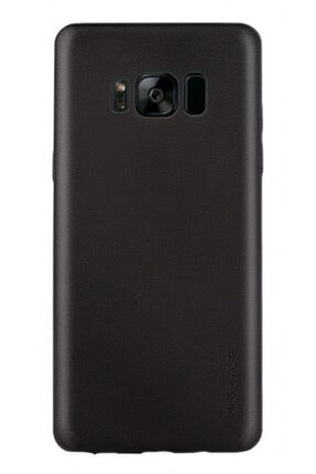 MobilCadde G-case Samsung Galaxy S8 Deri Görünümlü Siyah Rubber Kılıf