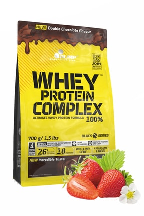 Olimp Whey Protein 700 Gr Çilek Aromalı Protein Tozu Kas Geliştirici Vücut Hacim Artırma