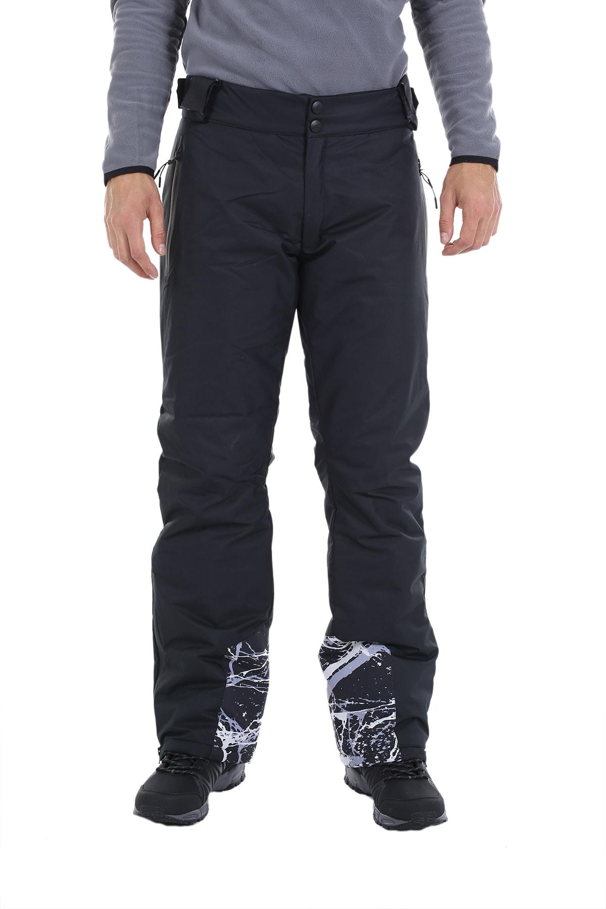 Exuma Erkek Siyah Kar Ve Kayak Pantolonu 2013131 10w342013131 1