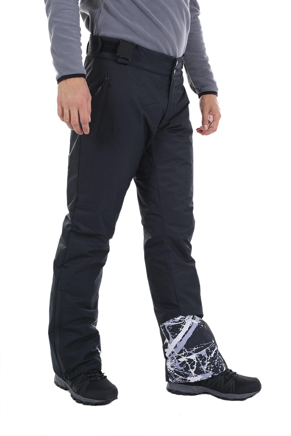 Exuma Erkek Siyah Kar Ve Kayak Pantolonu 2013131 10w342013131 2