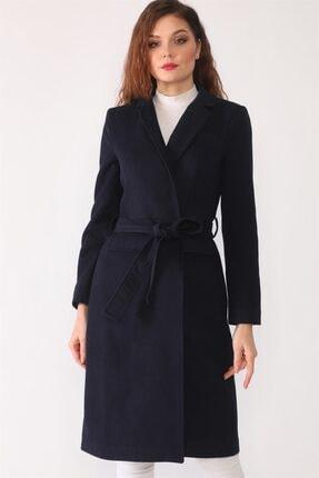 Dewberry Kadın Lacivert Palto