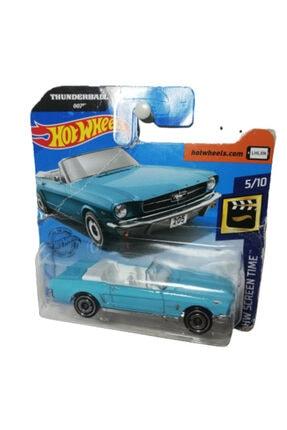 HOT WHEELS Thunderball 007 James Bond 65 Ford Mustang Convertıble % 100 Orjınal ( 1 Stoklu Ürün)