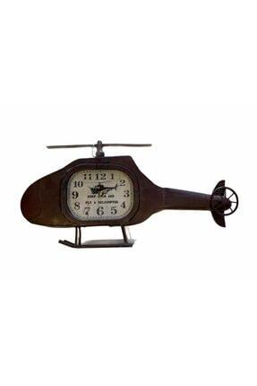 Vitale Helikopter Metal Duvar Saati 60x30 Cm Ak.eq0033