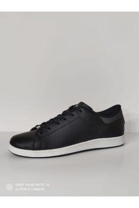 Lescon Erkek Siyah Sneakers Spor Ayakkabı