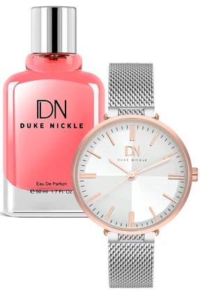 Duke Nickle Kadın  Saat Ve Parfüm Seti 1PVBG17039F
