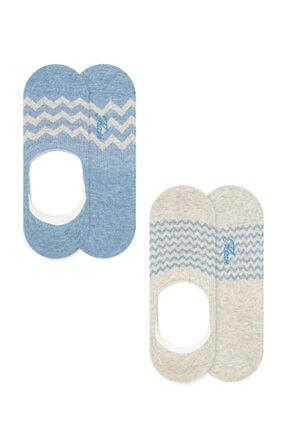 Mavi 2li Babet Çorabı Seti