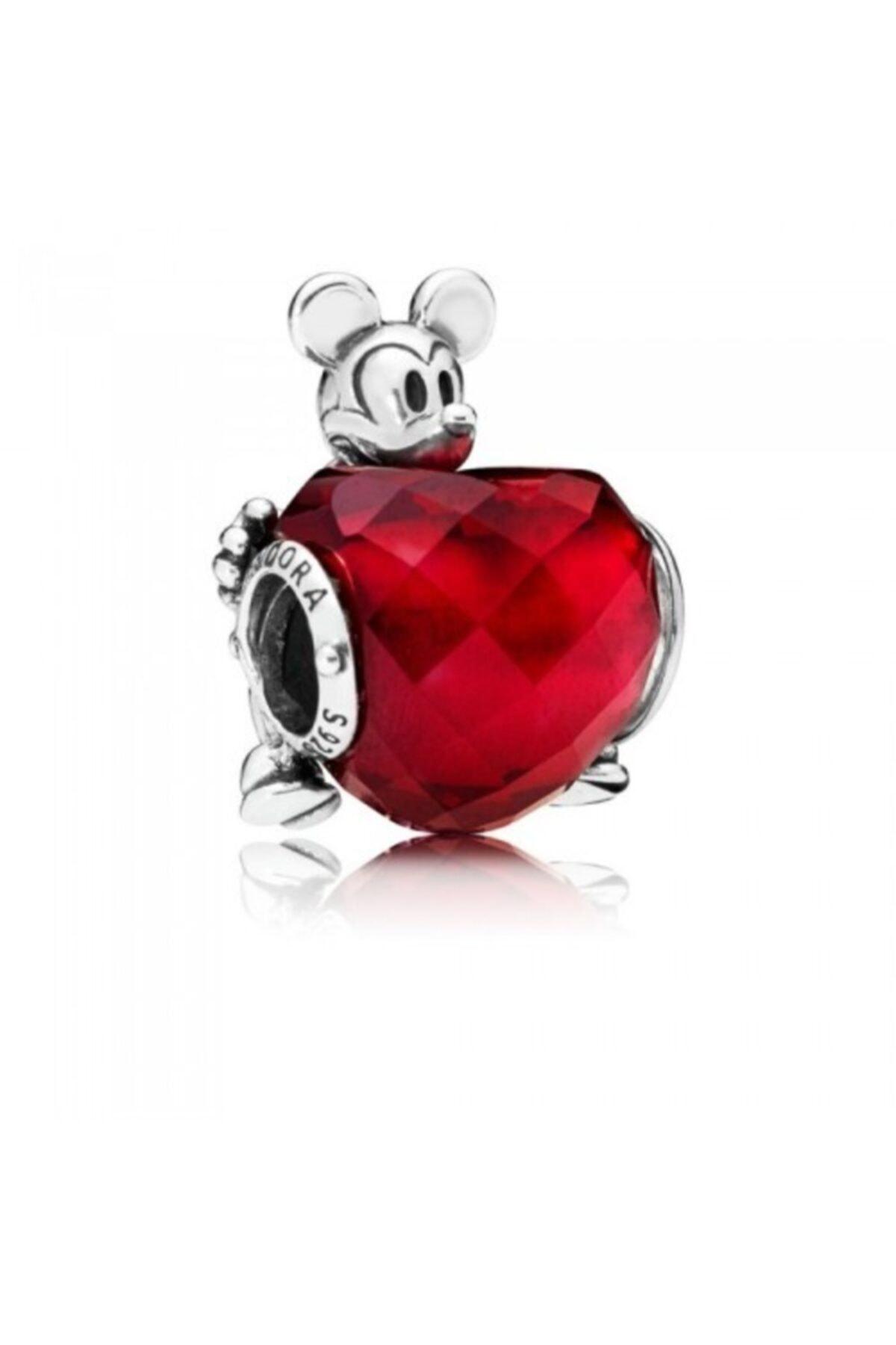 Pandora Disney Mickey Aşk Kalp Çekicilik 797168nfr 1