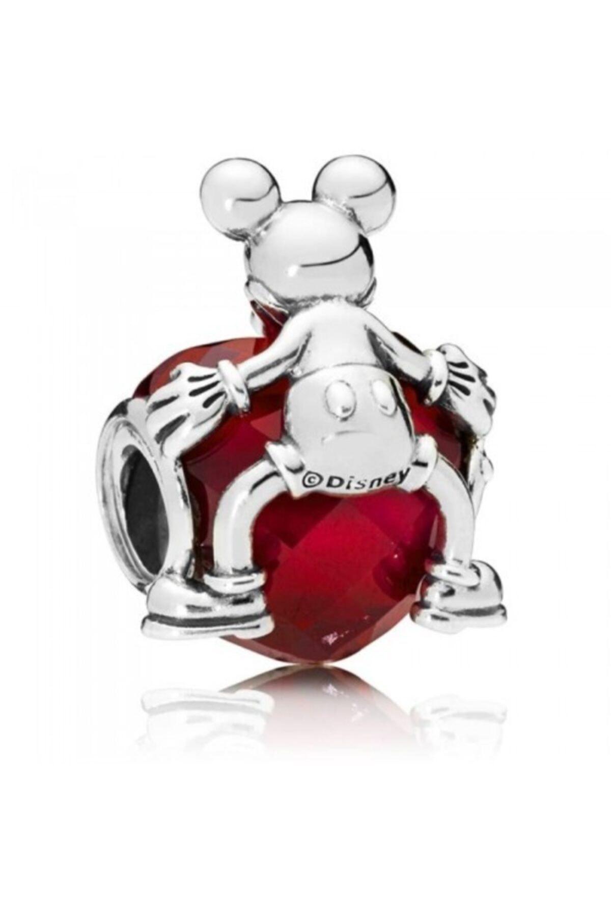 Pandora Disney Mickey Aşk Kalp Çekicilik 797168nfr 2