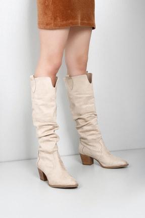 G.Ö.N Kadın Vizon Çizme 32241