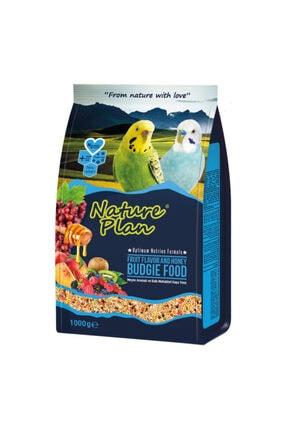Nature Plan Ballı Meyveli Muhabbet Kuş Yemi 1 Kg