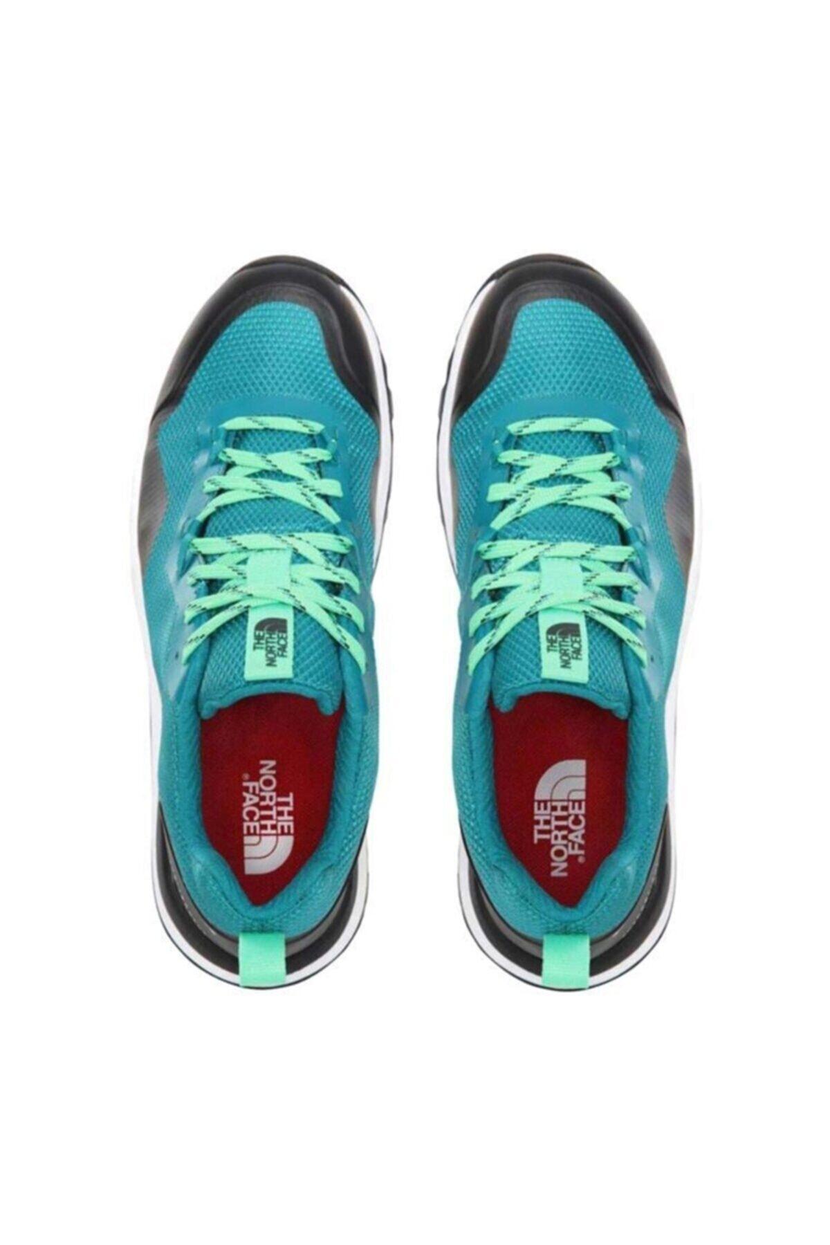 THE NORTH FACE Erkek Yeşil Bağcıklı Ayakkabı 1