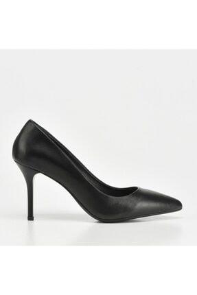 Hotiç Kadın Siyah Topuklu Ayakkabı