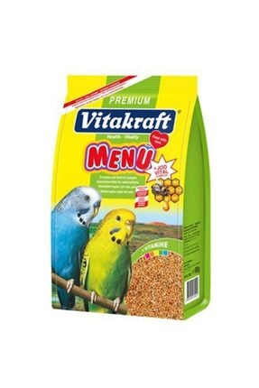 Vitakraft Menü Jod Vital Ballı Muhabbet Kuş Yemi 1 Kg