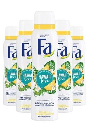 Fa Hawaii Love Deo Spray 150 Ml X5