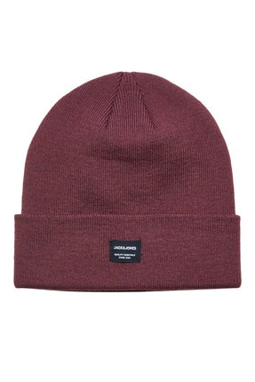 Jack & Jones Erkek Bordo Bere 12092815