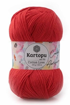Kartopu Cotton Love El Örgü Ipi 100 Gr | K1170